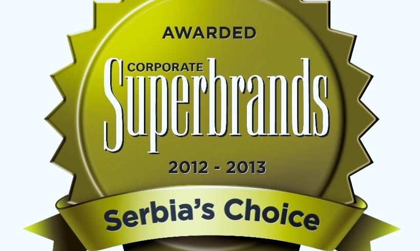Kompanija Dijamant dobitnik nagrade Superbrands Srbija