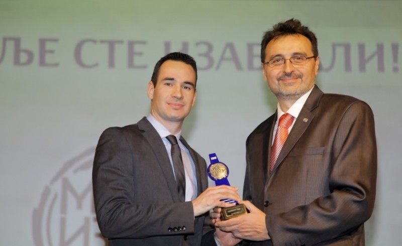"""My Choice"" in 2013, the company Dijamant is an favorite producer in Serbia"