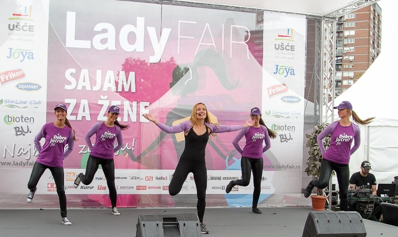 Dobro jutro FIT na Lady Fair – u