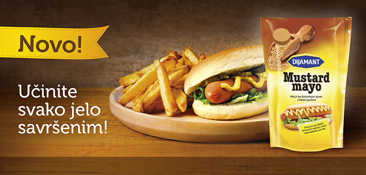 Mustard Mayo – Novi preliv iz Dijamanta!