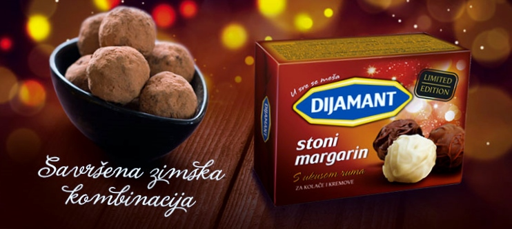 Stoni margarin sa ukusom ruma- Limited edition