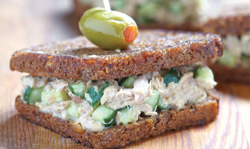 Američki sendvič sa tunjevinom