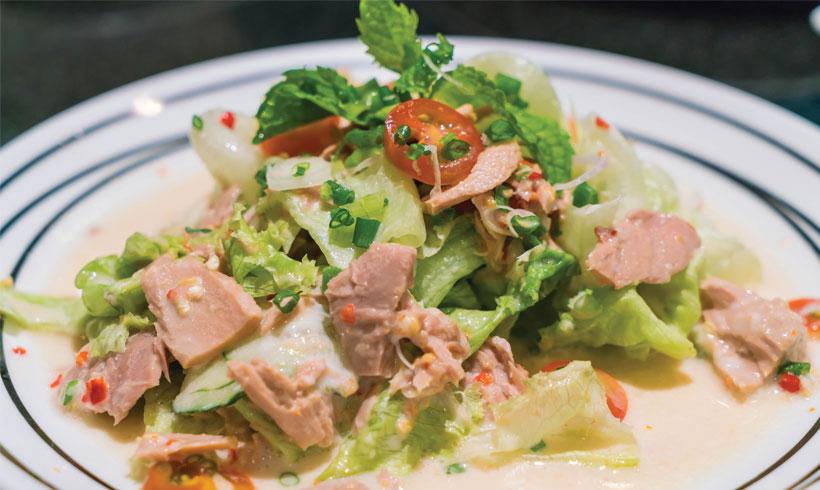 Recept Riblja salata
