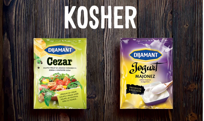 Products KOSHER certified