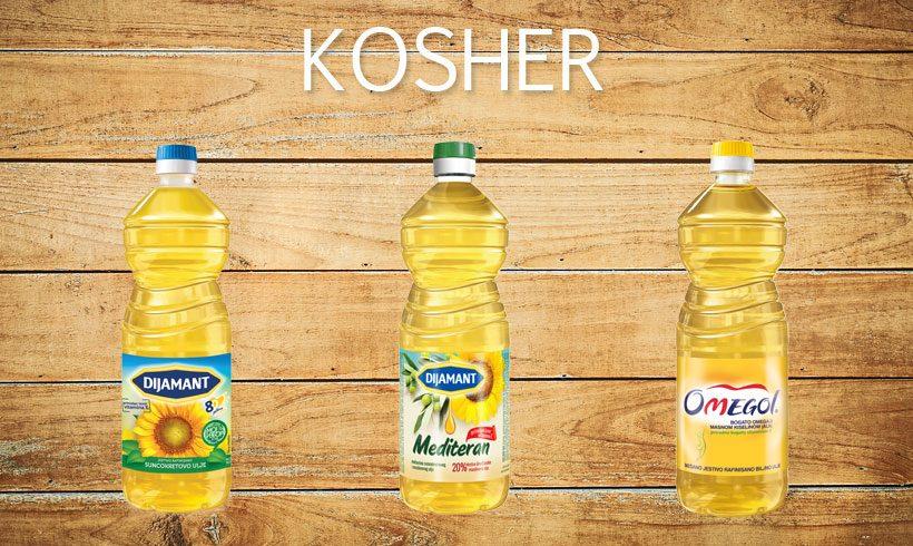 Proizvodi sertifikovani prema KOSHER standardu