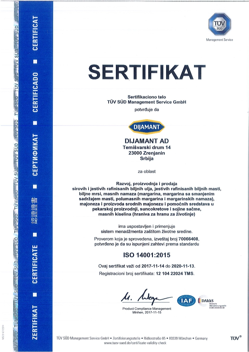 ISO 14001 srpski 2018
