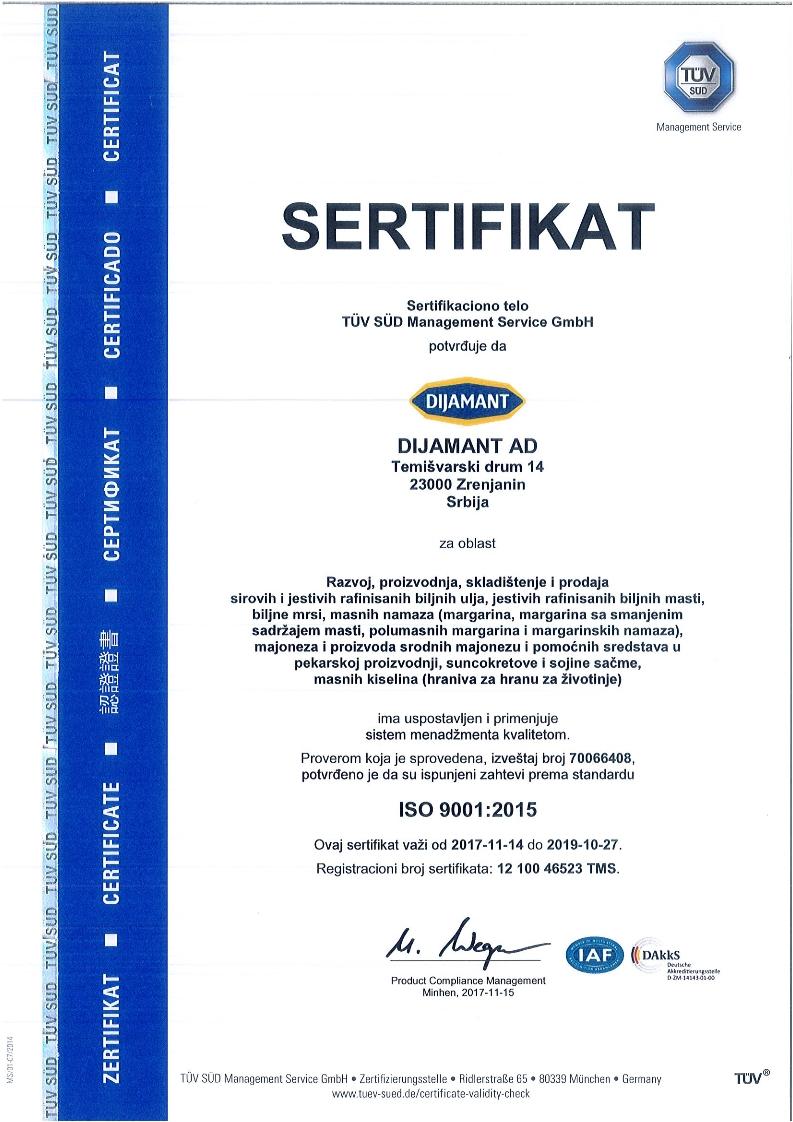 ISO 9001 srpski 2018