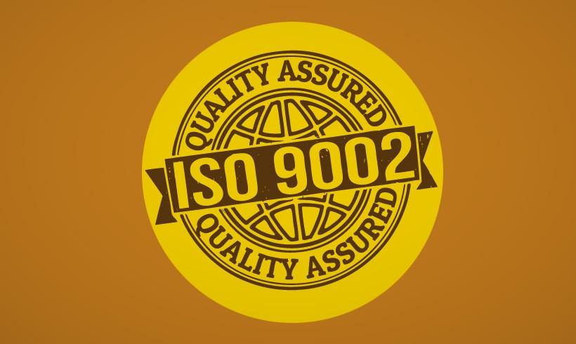 Dobijanje sertifikata JUS ISO 9002.