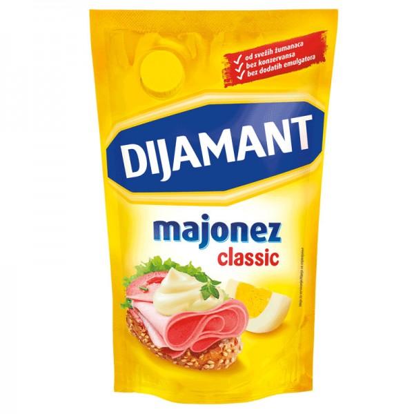 Dijamant,Majonez,Classic,285ml,bez konzervansa,bez emulgatora