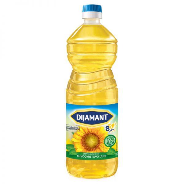 Dijamant suncokretovo ulje - 1l