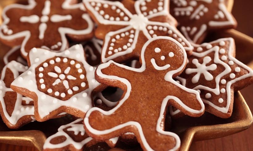 Božićni kolačići za jelo, ali i za jelku