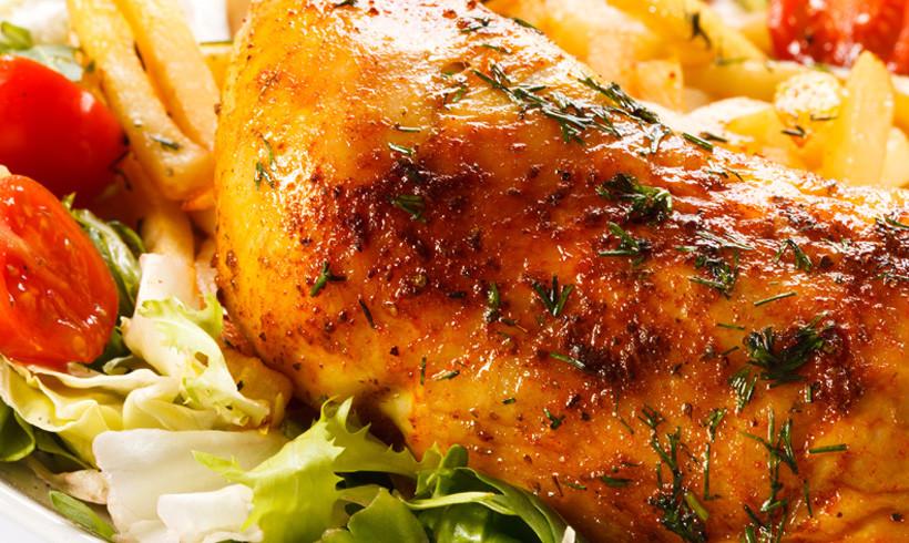 Piletina na jastuku od povrća