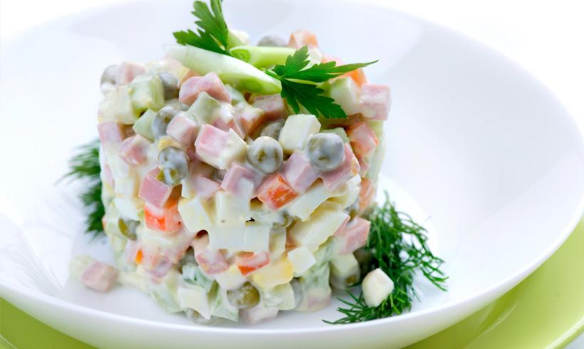 Recept Ruska salata