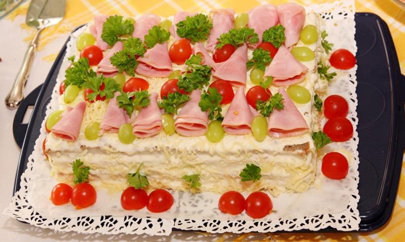 Recept slana torta