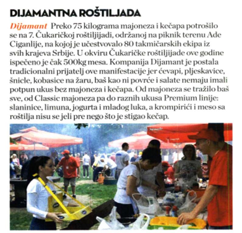 Mans Health: Dijamantna Roštiljada 2016