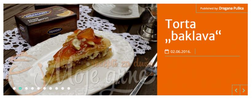Moje Grne: Slatki Život Čokolada Narandža Torta