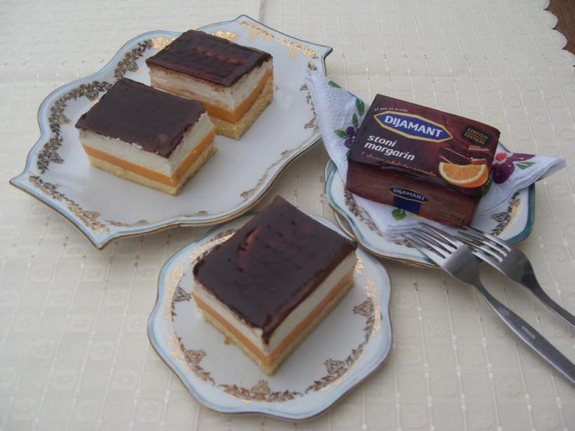 Lambada kolač čokolada narandža