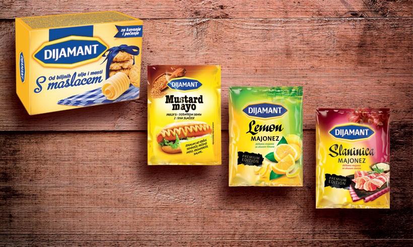 Lansirani novi proizvodi u 3 kategorije – Majonez slaninica i Lemon majonez; Preliv Mustardmayo; Stoni margarin s maslacem i s ukusom vanile.