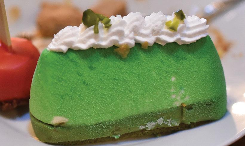 Sir torta sa pistaćima by Poslastičar