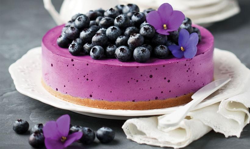 Torta sa borovnicama i belom čokoladom by Poslastičar