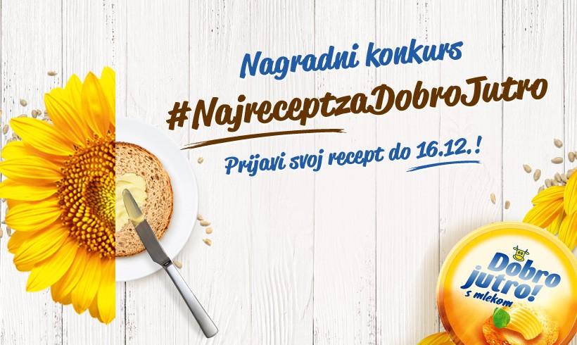 Nagradni Konkurs Naj Recept Za Dobro Jutro
