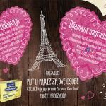 Dijamant vodi u Pariz #UsvesemesaLjubav