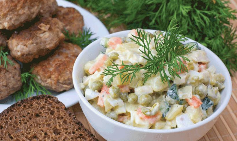 Recept Francuska salata