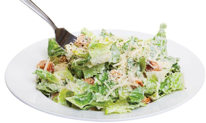 Cezar salata sa bademima
