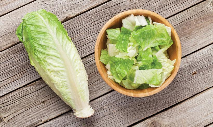 Sve jedno da li za salatu koristite Romanu, Iceberg, običnu zelenu, kelj, ili nešto treće, iseckajte na parčiće veličine 3-4cm