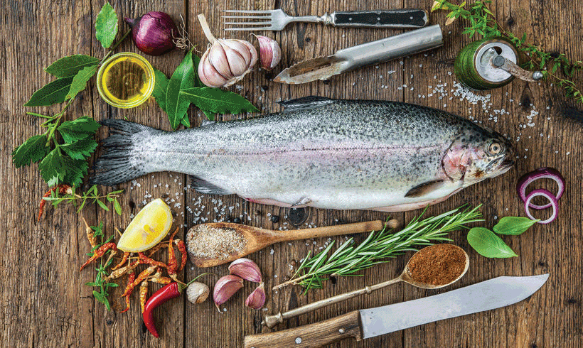 Priprema ribe za mariniranje