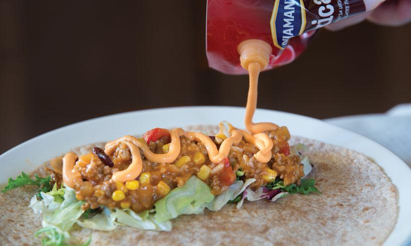 Burito napravite po svom ukusu, ali svi meksikanci ga jedu malo zaljućenog, mi smo dodali Mexicanu