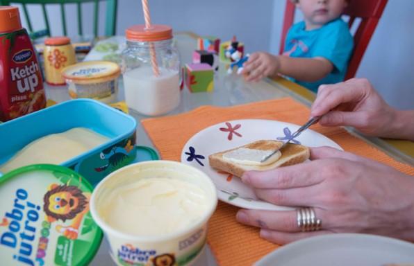 Priprema doručka sa Dobro Jutro Junior margarinom