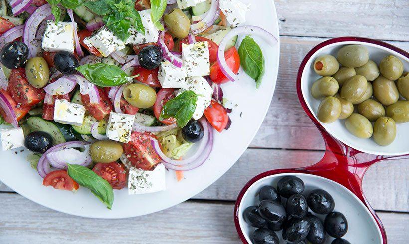 Mediteranskom salatom protiv vrućine