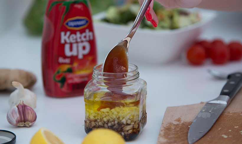Đumbir dresing, za obične i obrok salate