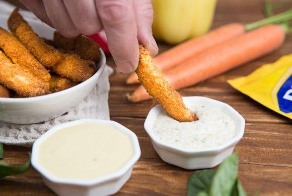 Kukavičji štapići od povrća i majonez sosevi