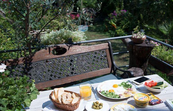 Bašta, doručak, omegol