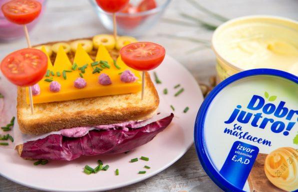 sendvič za princezu