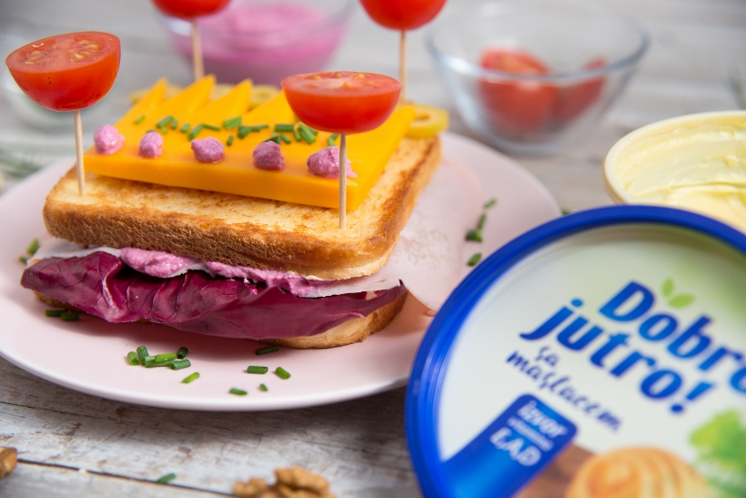 jer ipak je to moja princeza, a za nju sendvič mora biti najlepši!