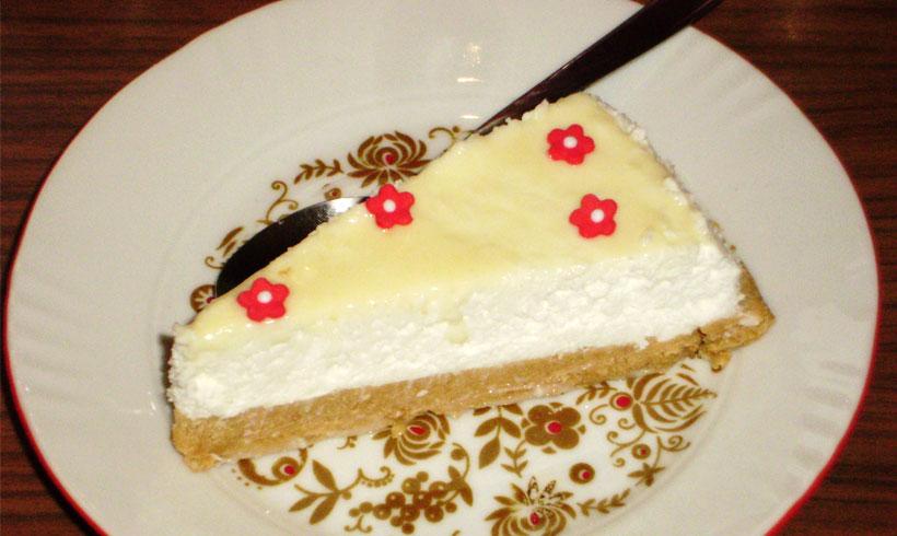 Cheesecake sa kokosom i cokoladom