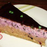 Torta - čokolada, kupina, sir