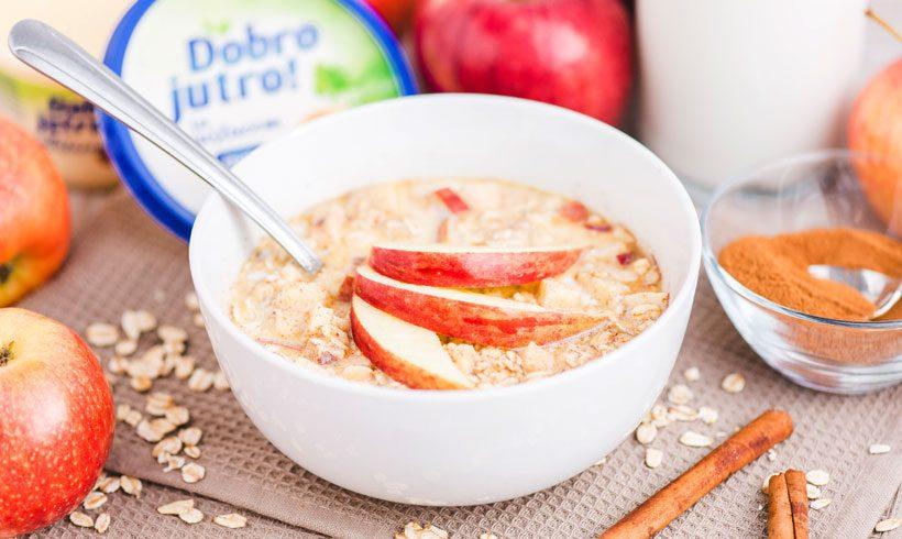 Cimet kao vaše tajno oružje – Dobro jutro ovsena kaša sa jabukama