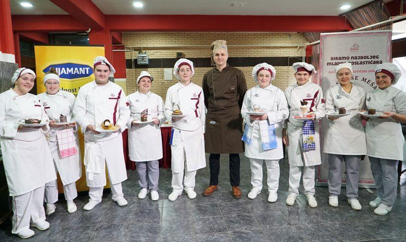 """Poslednja radionica u okviru projekta """"Mladi Poslastičar"""" u Leskovcu"""