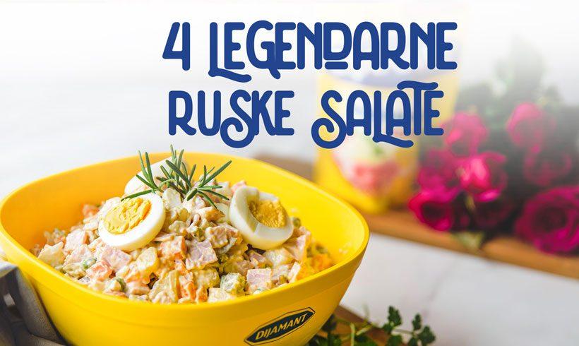 Dijamant majonez i 4 legendarne ruske salate
