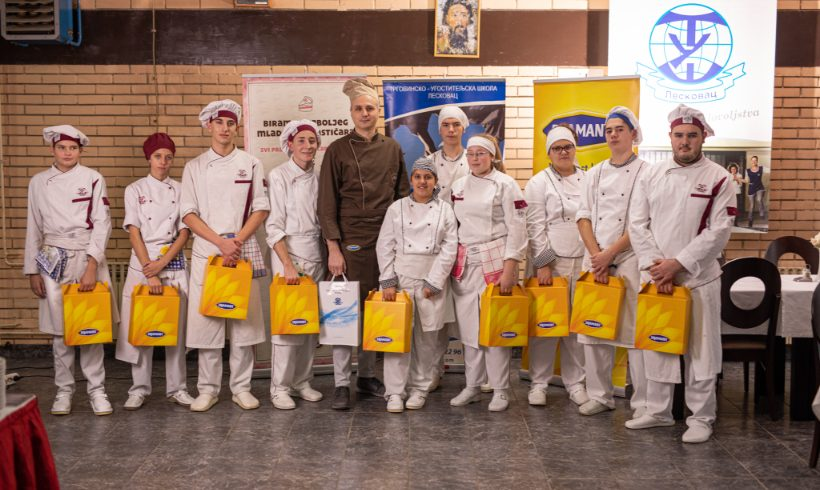 Karavan Mladi poslastičar u Leskovcu