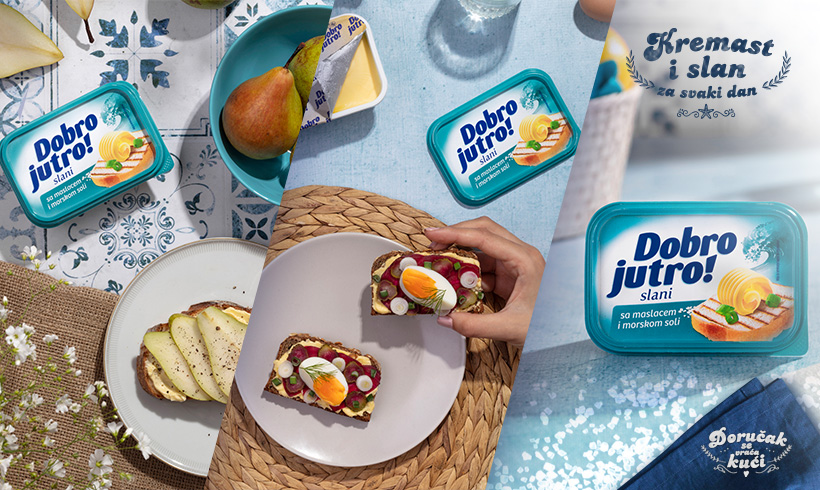 Na talasima zadovoljstva – Dobro jutro sa maslacem i morskom solju